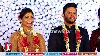 ನಟ, ಶಾಸಕ ಬಿಸಿ ಪಾಟೀಲ್ ಪುತ್ರಿ ಮದುವೆ ರಿಸೆಪ್ಷನ್ | MLA BC Patil Daughter Marriage Reception