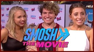 JennxPenn, Lauren Elizabeth, and JC Caylen & more at SMOSH: The Movie premiere!