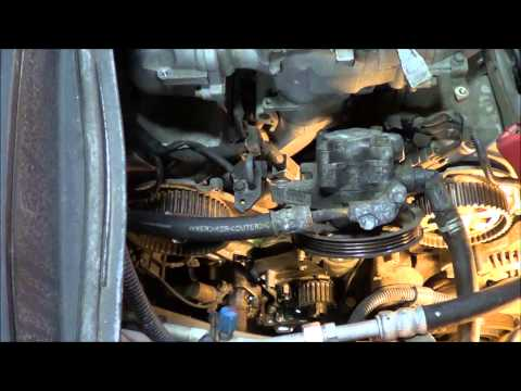 How to replace the timing belt on a 2004 Honda Pilot 3.5 V6