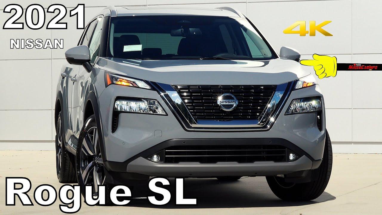 2021 Nissan Rogue SL - Ultimate In-Depth Look in 4K