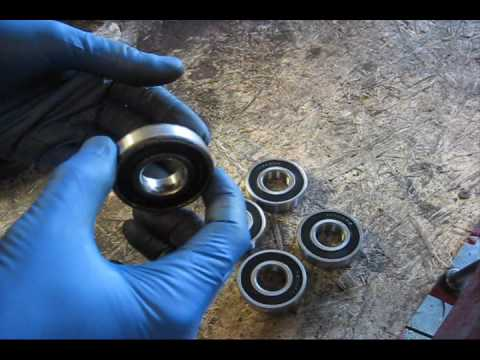 MTD spindle  bearing replacement