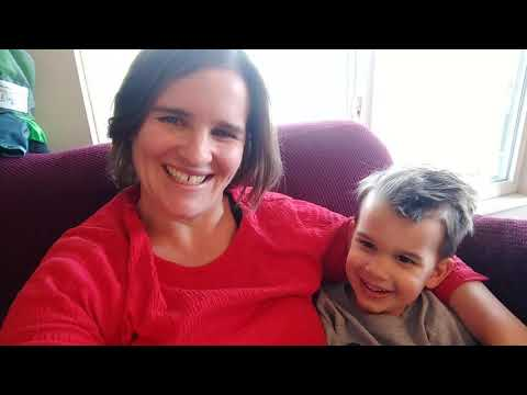 Mommy and Shane singing