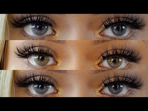 DESIO LENS CONTACT REVIEW | TORIC LENSES | Creamy Beige, Caramel Brown, and Darker Grey