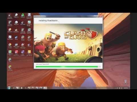 Cara Instal Bluestacks dan Main Clash Of Clans (COC) di Komputer