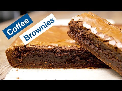 Coffee Chocolate Brown Butter Brownies Recipe || Le Gourmet TV Recipes