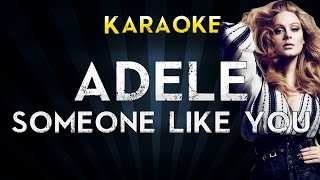 Adele  Someone Like You  Lower Key Karaoke Instrumental Lyrics Cover Sing Along