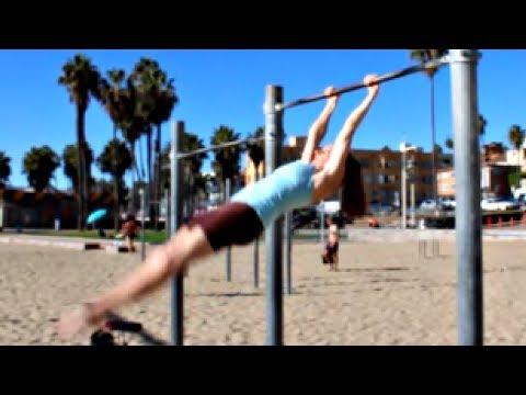 Gymnastics Glide Kip From A Swing With Coach Meggin!