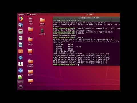 Ubuntu Screen Resolution Change  Permanent
