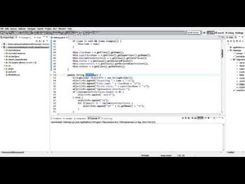 Поглиблена Java - Java Reflection API
