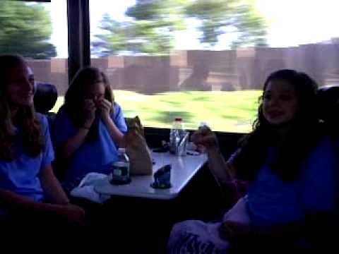 Bus to Hershey Park!