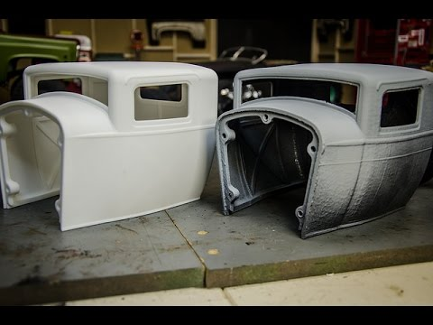 3d Printed Custom RC Rat Rod Cabs, You Get what you pay for,  Shapeways VS Local Print