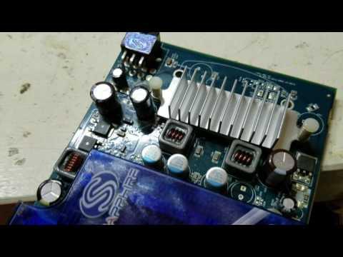 Repair graphics card - bad capacitor