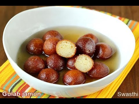 Khoya Gulab jamun recipe | How to make gulab jamun
