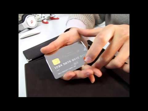 metal stainless card - High concept card's new tech in the world