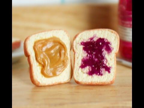 Peanut Butter & Jelly - Polymer Clay Earrings Tutorial