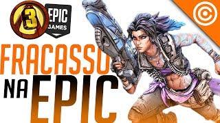 Borderlands 3 FRACASSOU na Epic Games mas se acha RECORDISTA