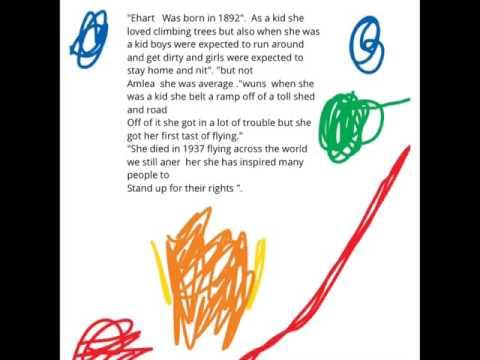 Amelia Earhart Written Report