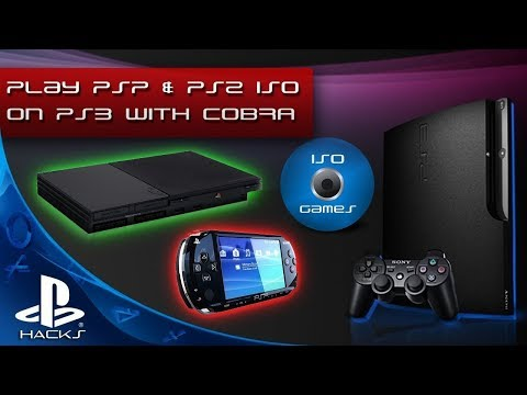 How to Install and Play PSP Games on PS3 with REBUG 4.81.2 COBRA & PSP Launcher