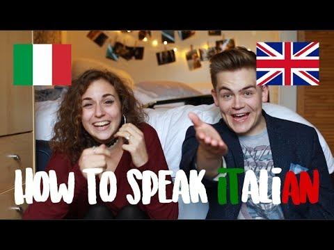 How To Speak Italian (Italy VS England) | doyouknowellie