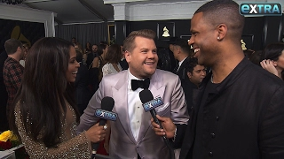 Download James Corden Opens Up on His Nerves on the Grammys Red Carpet Video