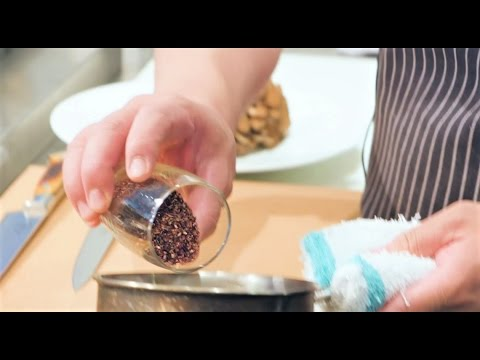 How to: Poach Mushrooms with Mountain Berry Tea | TEALEAVES #FBintheKnow
