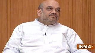 BJP President Amit Shah in Aap Ki Adalat (2016)