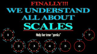 ALL ABOUT MUSICAL SCALES - A COMPLETE GUIDE!!!