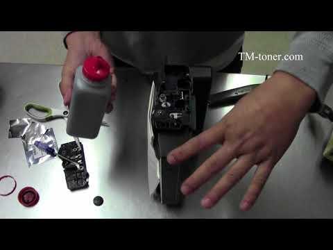 How to refill Samsung ProXpress M3370FD, SL-M3820DW, SL-M3870FW,SL-M4020ND toner cartridge