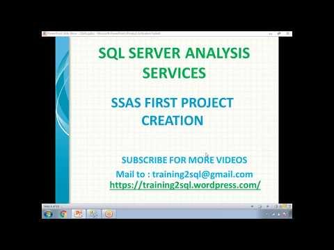 SSAS Cube Design | Cube Development in SSAS