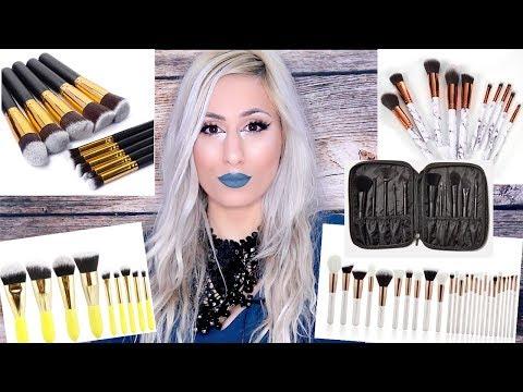14 Affordable MAKEUP BRUSH SET Alternatives to Kylie Jenner's Brush Set !