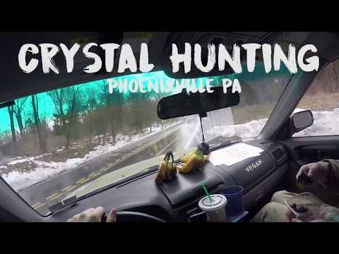 Crystal Hunting - Pickering Valley Phoenixville PA