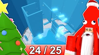 [24/25] CHRISTMAS STAGES in Tower of Hell... | Roblox