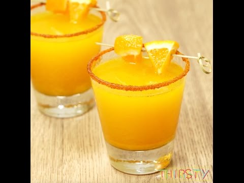 How to Make Orange Turmeric Margaritas