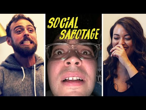 Friends Play An Awkward Party Game: Social Sabotage