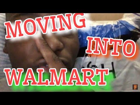 MOVING INTO WALMART!