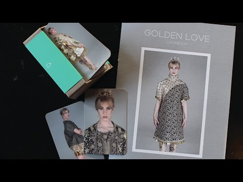 Making a Fashion look book & Fashion business cards