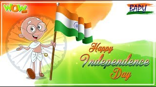 Jana Gana Mana | National Anthem | Independence Day Special | Full Song | Bappu  | WowKidz