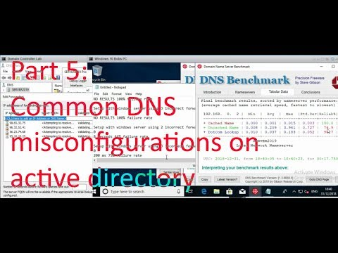Part 5: Common DNS misconfigurations - Basic Windows Server and Active Directory Admin
