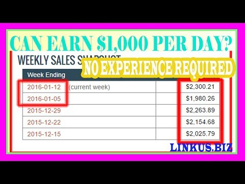 How to Make Money Online On The Internet - Fast Way To Earn Money From Home 2017 Up To $1,000 Per Da