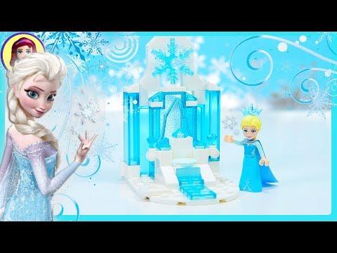 Frozen Elsa's Tiny Diorama Custom Castle Lego Disney Princess Build Kids Toys