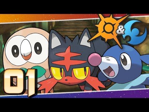 Pokémon Sun and Moon - Episode 1 | Aloha Alola!