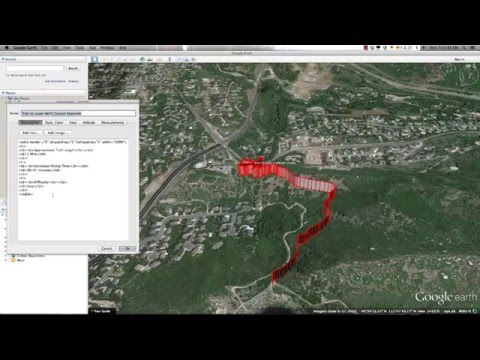 Introduction to Google Earth - Part 5 Creating Paths