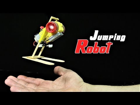 How To Build A Simple Jumping Robot