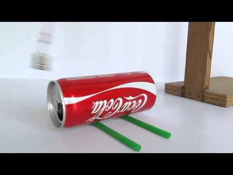 Magnetic Force and its Energy Move a Can without touching it (Eddy Current Dance)