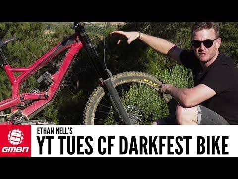 Ethan Nell's YT Tues CF DarkFEST Bike   GMBN Pro Bikes
