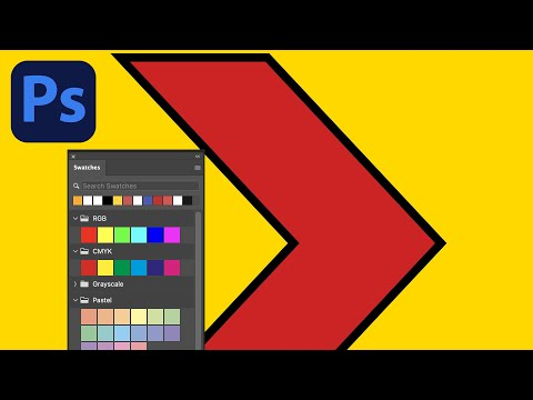 Changing fill color of shapes in Photoshop CC 2018 2017 etc