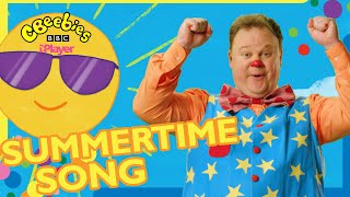 Mr Tumble Summer Song for Children   Summertime Is Here!   CBeebies Something Special