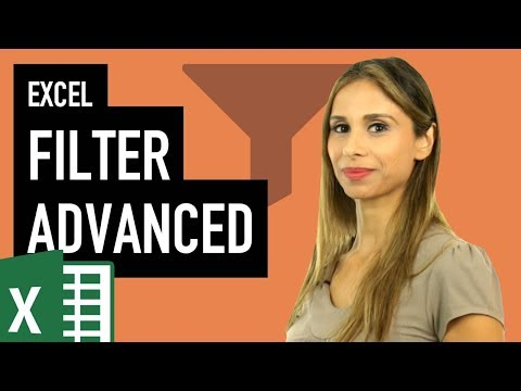 Advanced Excel Filter (And, Or, Between conditions for criteria range)
