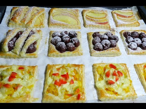 Pastry! Apple Cherry Potato Cheese Puff Pastry