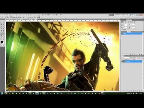 Rendering in Photoshop CS5